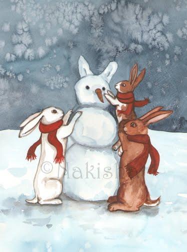 Holiday card by Nakisha