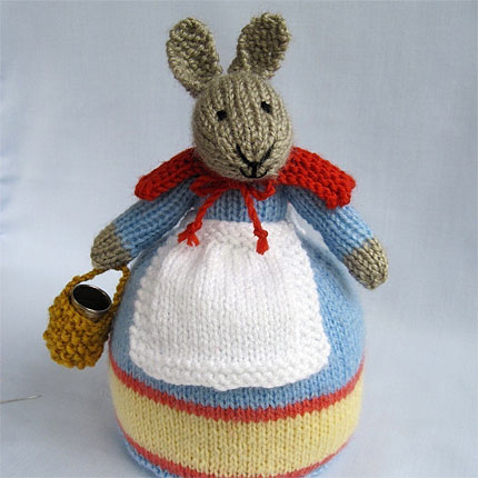 Rowena Rabbit Knitting Pattern PDF