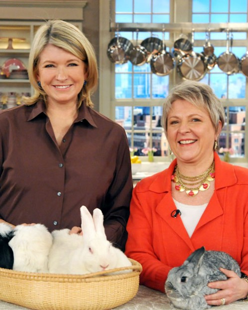 Martha Stewart and Cindy Stutts