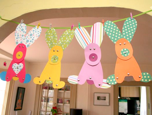 Easter bunny crafts for kids my house rabbit