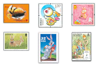 Rabbit Stamps