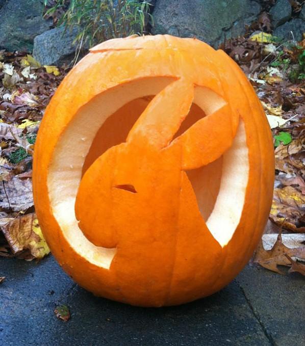 Rabbit Jack O'-Lantern