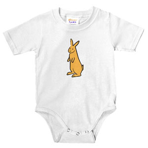 Cute Bunny Rabbit Infant Bodysuit