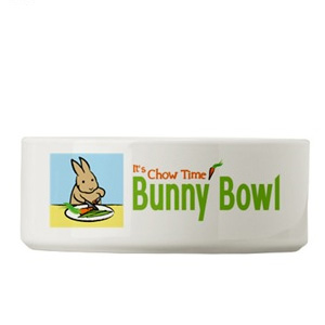Bunny Bowl (Small Pet Food Dish)